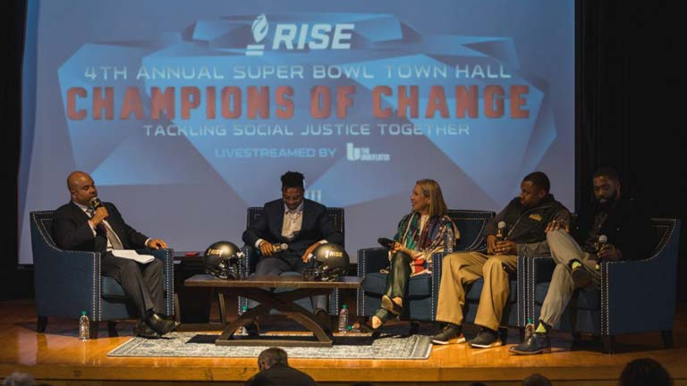 Champions of Change: Tackling Social Justice Together